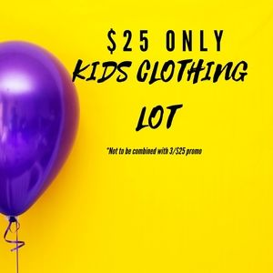 Old Navy, H&M, Carter's Kids girls size 4-6